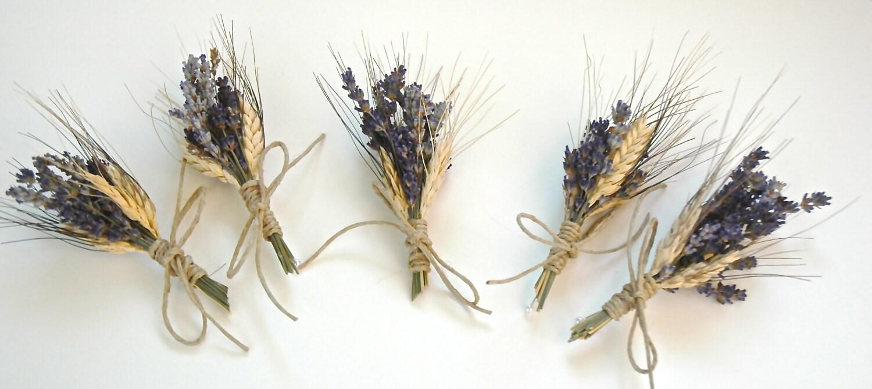 lavender boutonniere - photo #46