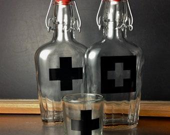 1st Aid Medicine Flask
