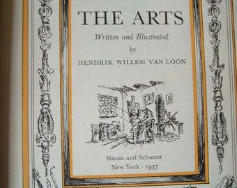 Vintage  book The Arts