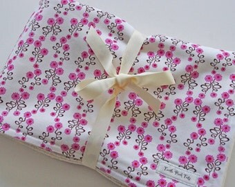 CLOSEOUT SALE- Organic Collection Baby Blanket - Daisy Chain