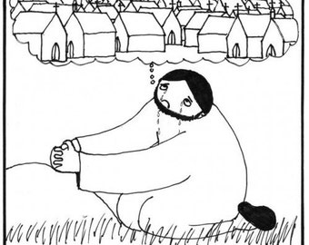 the real reason Jesus wept in the garden PRINT