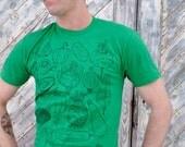 Vegetables Tshirt - shirt - green - farmers market - food - foodie