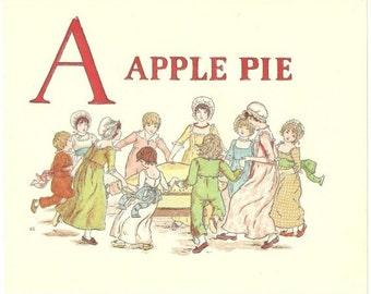 45 Old A Apple Pie PRINTS By KATE GREENAWAY