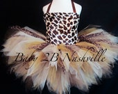 Girls Safari Cheetah Tutu...
