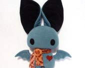 Dexter the Bat in Blue and Black - Reserved for MisakoXC