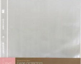 Scrapbook Album Page Protectors American Crafts 12x12 - kitsnbitscraps