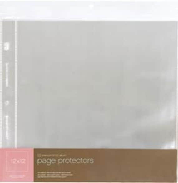 scrapbook album page protectors american crafts 12x12 On american crafts page protectors 12x12