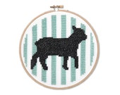 Silhouette Sheep Cross Stitch Pattern Instant Download