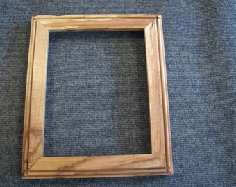 8x10 Spalted Rock Maple Picture Frame