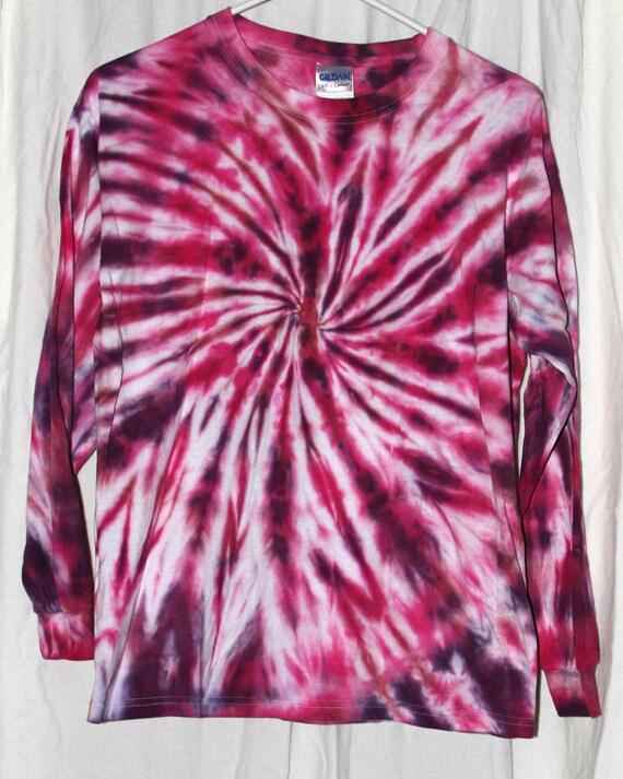 Tie And Dye Marron : tie dye shirt youth xl long sleeve pink maroon and purple ~ Melissatoandfro.com Idées de Décoration