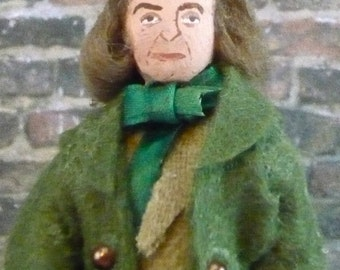 Silas Marner by George Eliot Doll Miniature Classic Literature Art
