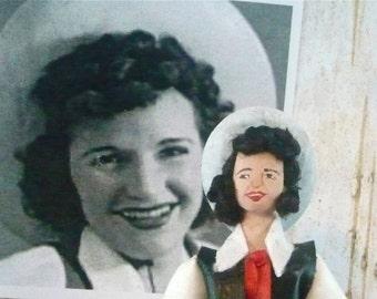 Patsy Montana Doll Miniature Country Music Star