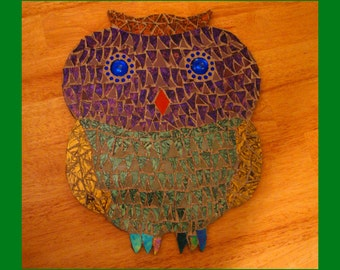 Audrey's Awesome Owl Mosaic