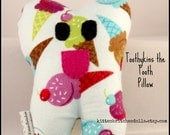 Toothykins the Tooth Fairy Pillow- Ice Cream