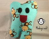 Toothykins the Tooth Fairy Pillow- Monkeys