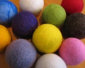 Hand-made Woolly Balls for your Dryer - Set of 4 - I Choose - You Save - Randomosity