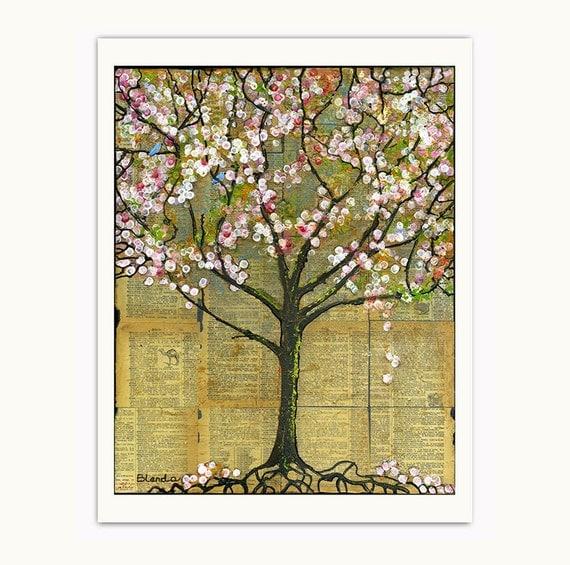 Lexicon Tree 8X10 Print