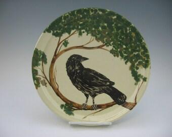 Raven Plate, a Handmade Original