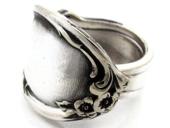 Spoon Ring Moonlight Size 10