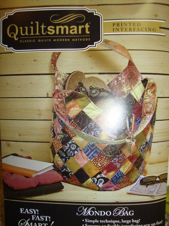Quiltsmart Mondo Bag Pattern