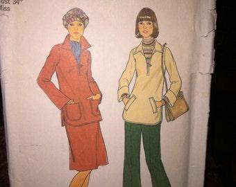 Vintage Simplicity Sewing Pattern 7219