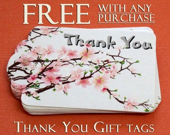 FREE  Please read description, Thank You Gift Tags with any purchase, Set of 9, code 3030-04