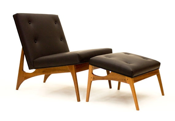 Center City Lounge Chair And Ottoman Modern By Wrenandcooper