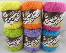 HOT Lily Sugar'n Cream Cotton Yarn Colors