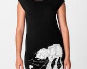 My Star Wars AT-AT Pet - American Apparel T Dress ( Star Wars ATAT Dress )