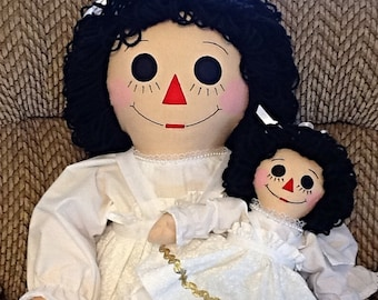 Quinceanera Raggedy Ann Dolls Handmade - 36 and 15 Inches - Custom Orders - Personalization