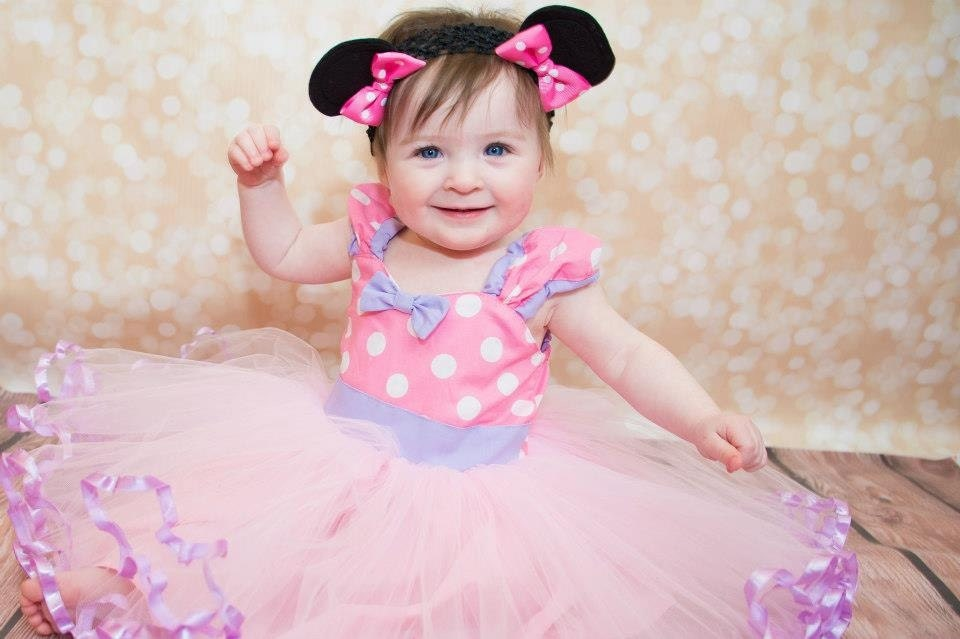 Baby minnie mouse dress tutu party dress by loverdoversclothing