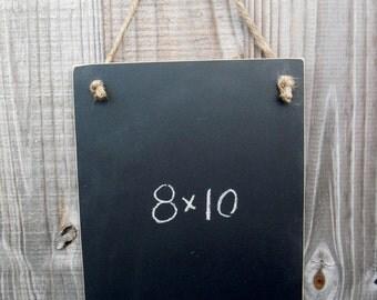 Chalkboard  - Hanging Frameless Blackboard -  Item 1476