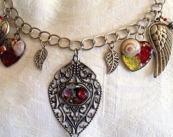 Steampunk Style with Dichroic and Stained Glass