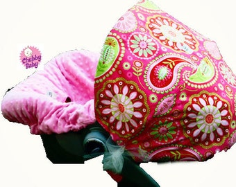 Infant Car Seat Cover, Baby Car Seat Cover in Paisley