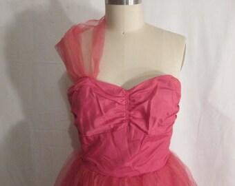 Vintage 1950's Party Prom Dress Rockabilly VLV SALE