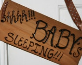 Shhhh-- Baby Sleeping Sign