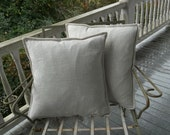 Custom Linen Pillows Linen Pillow Covers Custom Sizes and Colors Decorative Pillows French Country Cottage Linen Pillow Covers Throw Pillows