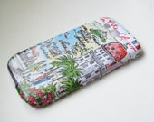 SALE!! French Towns iPhone 5/5S Case Back Cover Decoupaged Hard Shell Case