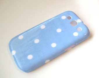 Polka Dot Phone Case - Samsung Galaxy S3, S4, S5, or Note 2 Case - Back Cover
