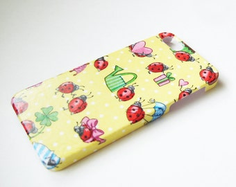 Ladybug iPhone 3, 4/4S, 5/5S, 5C, 6 or iPod Touch Case - Back Cover - Hard Shell Case