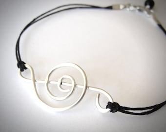 Treble Clef bracelet jewelry sterling treble music lover bracelet sterling musical note bracelet ready to ship jewelry Graduation Gift