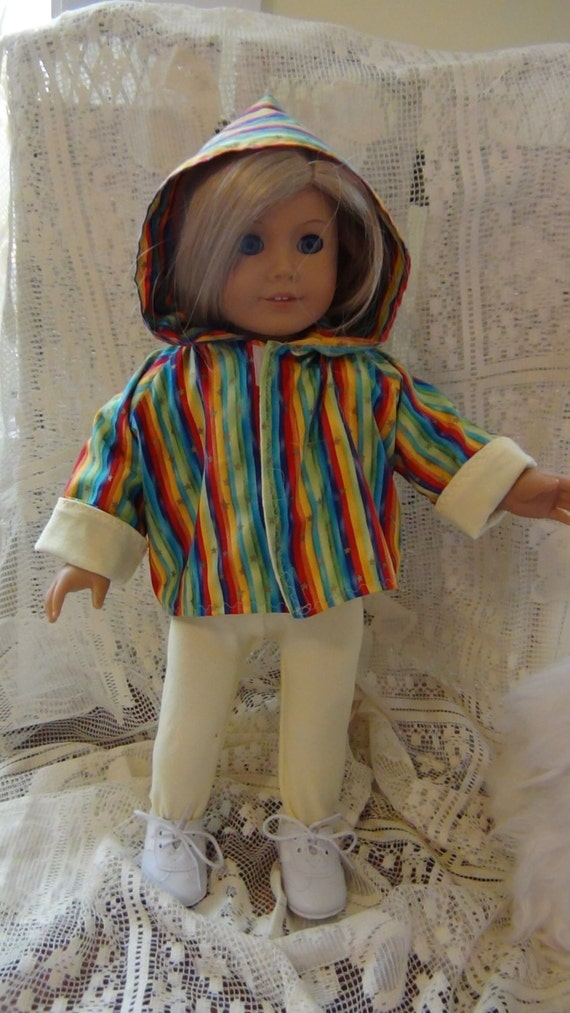 Reversible AMERICAN GIRL DOLL Hoodie Pattern from ...