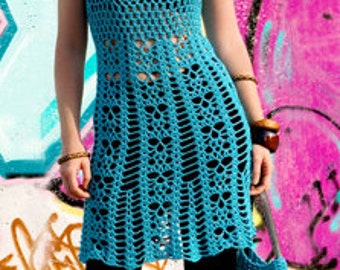 MADE TO ORDER  summer crochet tunic R50