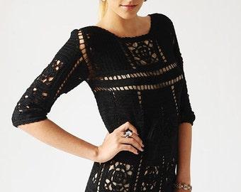 MADE TO ORDER  summer crochet dress  RI79