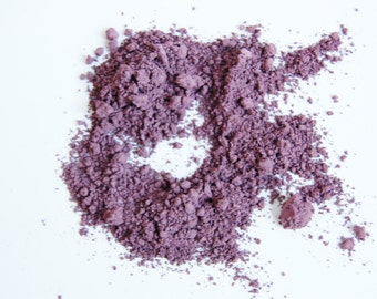Vibrant Violet Eyeshadow & Eyeliner  *All-Natural Gentle Vegan Mineral Makeup*