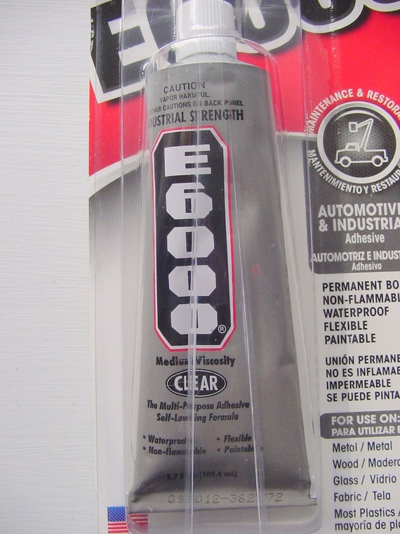 c9272abb5789 E6000 2oz Tube Industrial Strength Craft Adhesive Glue Great for ...