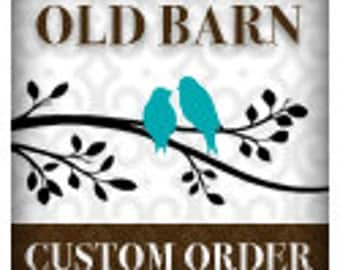 Custom Order for sharhi - Vinyl Wall Decals