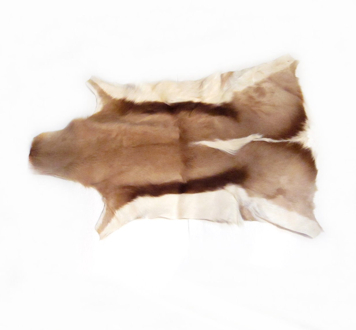 Fur Deer Hide Pelt Rug / Wall Hanging