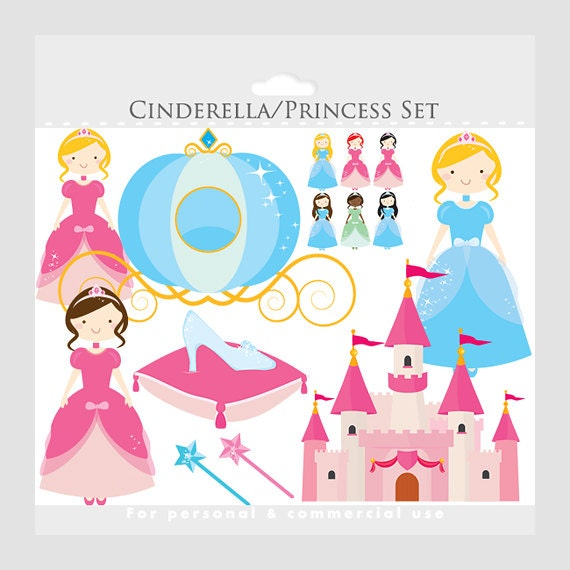 Cinderella Clipart Princess