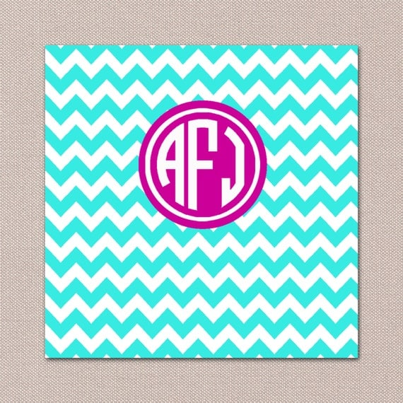 items similar to chevron monogram ipad wallpaper on etsy